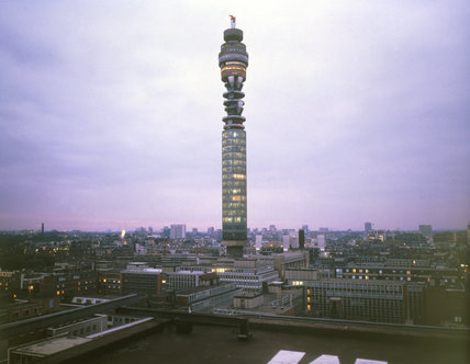 Post Office Tower, London, c 1970s.