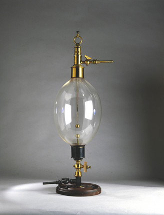 Electric egg, c 1880.