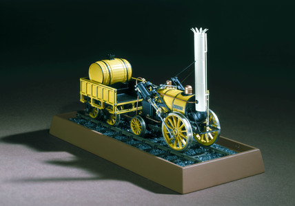 Stephenson's 'Rocket' locomotive, 1829.