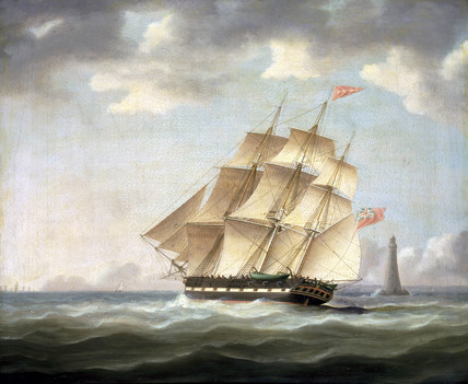 The whaler 'Harpooner', 1830s.