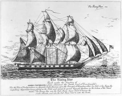 PS 'Rising Star', 1821.
