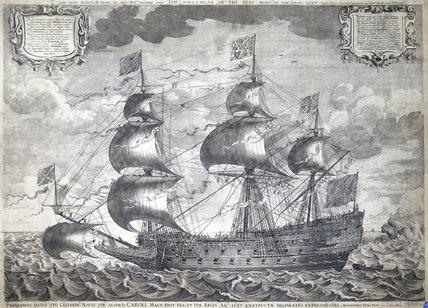 HMS 'Sovereign of the Seas', 1637.
