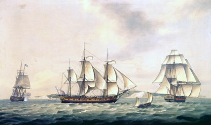 East India Company's Packet 'Swallow', 1788.