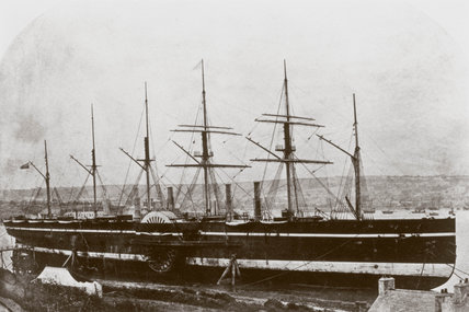 Ps 'Great Eastern', 1858.
