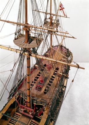 28-gun frigate, c 1775.