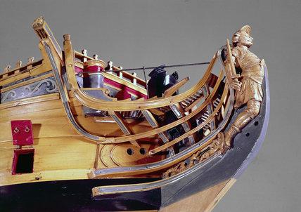 HMS 'Achilles', 1757.