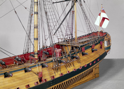 20-gun ship, c 1719.