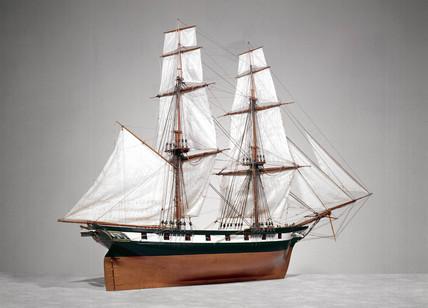 HM Brig 'Fantome', 1839.