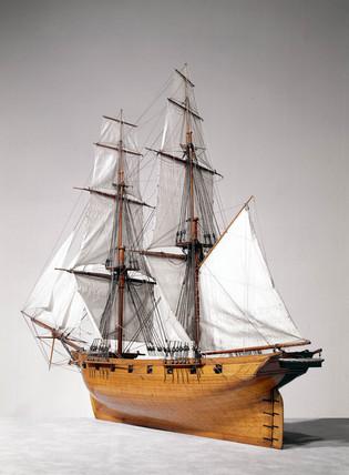 HM Brig 'Fantome', 1838.