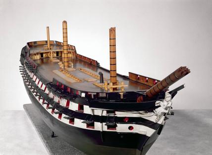 HMS 'Albion', 1842.