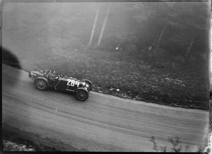Bugatti Type 35 racing car, Germany, 1930s.