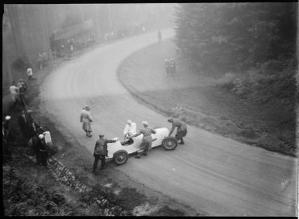 Motor race, Germany, 1930s.