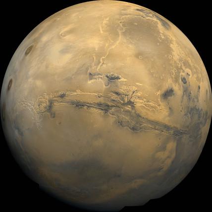 Mars, February 1980.