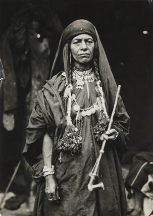 Bedouin woman, Jericho, c 1935.