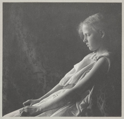 'Towheaded Girl in a Chiton', c 1897.