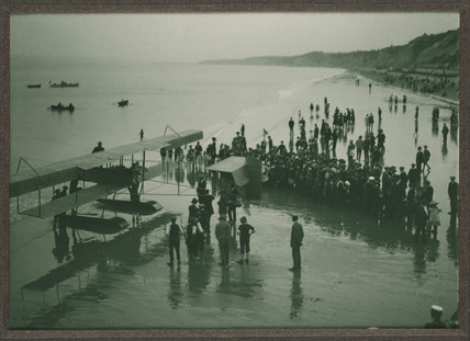 First hydroplane, Bournemouth, Dorset, 1912.