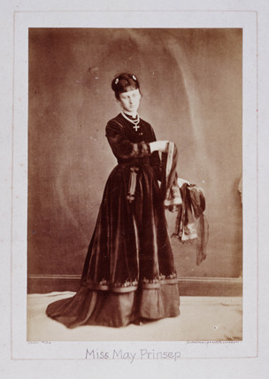 Miss May Prinsep, c 1860s.
