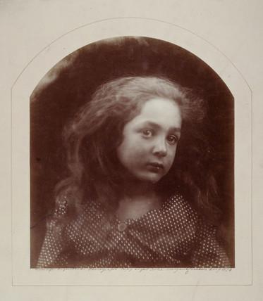 A child's head, 1874.