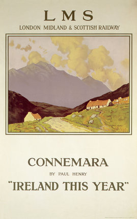 'Ireland this Year', LMS poster, 1923-1947.