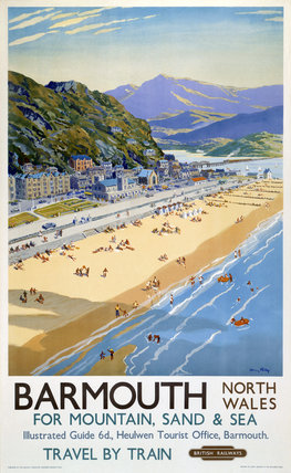 'Barmouth', BR poster, 1948-1965.
