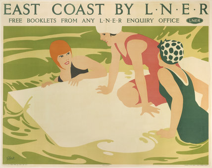 'East Coast by LNER', LNER poster, c 1930.