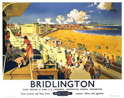 'Bridlington', BR poster, 1950s.