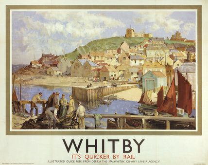 'Whitby', LNER poster, 1935.
