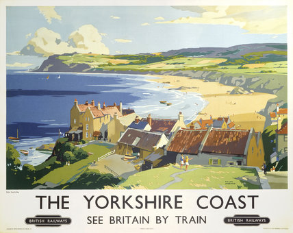 'The Yorkshire Coast', BR poster, 1950s.