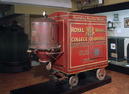 Booth's original Red Trolley British Vacuum Cleaner, 1905.