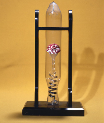Crookes' tube showing the phosphorescence of rubies, 1879-1888.