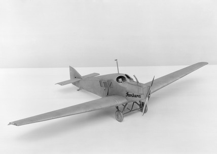 Junkers F-13 all-metal transport monoplane.