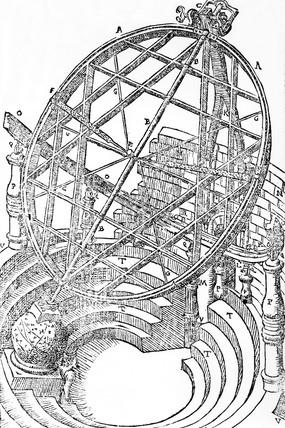 Tycho Brahe's circular equatorial, 1580.