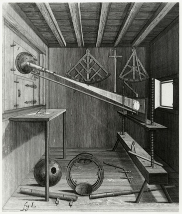 Scioptric ball and telescope for Solar projections, 1647.