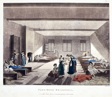 'Pass-Room Bridewell', 1808.