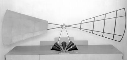 Propeller of Sanlos Dumouls derigible ballo