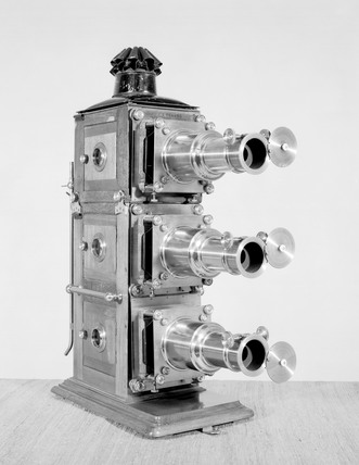 Early triunnial lantern, c 1890 by J H Stew