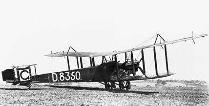 Handley Page O/400 Civil Conversion, June 1919.