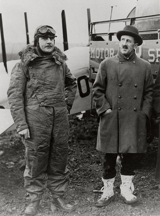 Sir Alan Cobham, English aviator, c 1933.