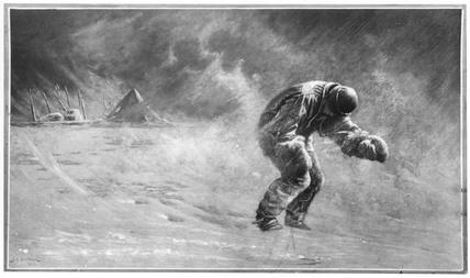 Captain Robert Falcon Scott, English Antarctic explorer, c 1912.