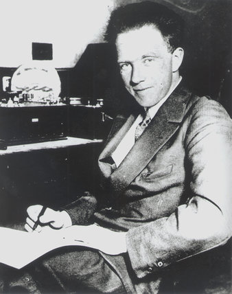 Carl Werner Heisenberg, German physicist, c 1920s.