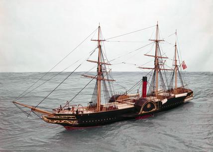 PS 'Britannia', 1840.
