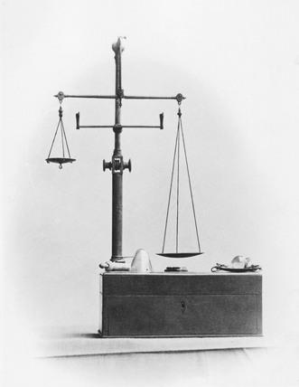 Dalton's balance.Post 1793.