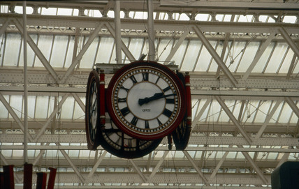 Waterloo station clock, 1993 (NRM / Science & Society)