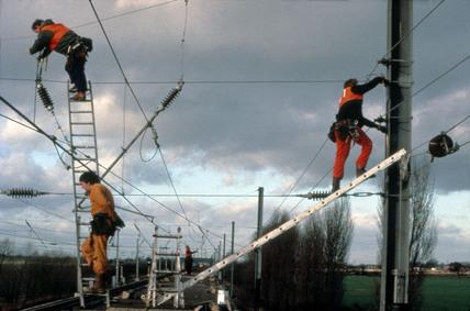 Pan Train at Overton, 10 January 1989.
