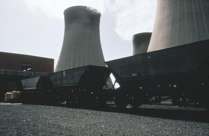 Merry Go Round at Cottam Power Station, 1970-1995.