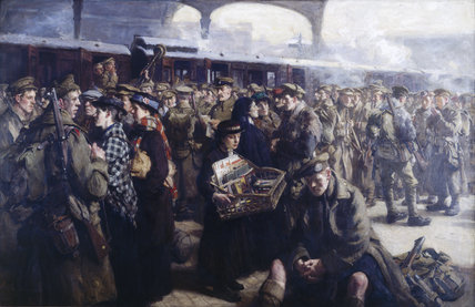 'Returning to the front, Victoria Station,