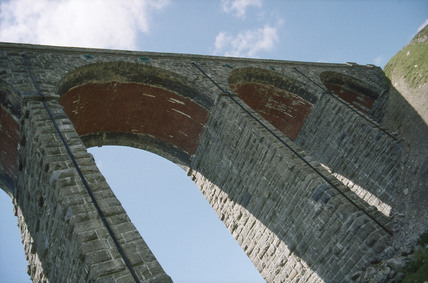 Ribblehead Viaduct, North Yorkshire, 14 June 1994.