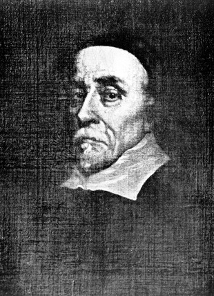 William Harvey, English doctor, mid 17th century.