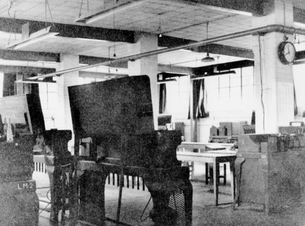 Code-breaking equipment at Bletchley Park, 1943.