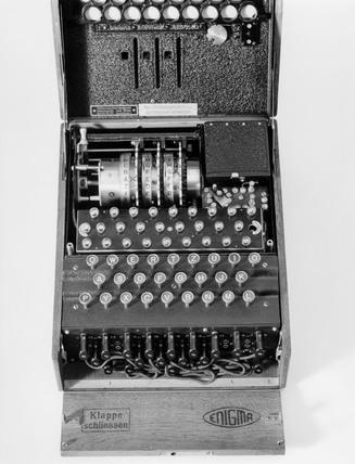 'Enigma' cypher machine, c 1930s.